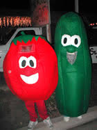 fruit and vegetable costumes