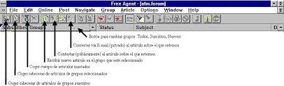 barra de herramientas de internet