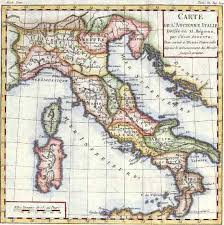 old italy maps