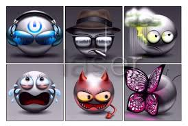 3d animated smileys