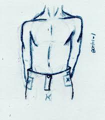 male body sketch