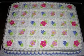bridal shower sheet cakes