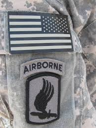 173rd airborne patch
