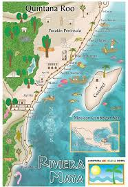 rivera maya maps