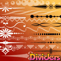 graphic dividers