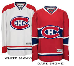 canadiens hockey jerseys