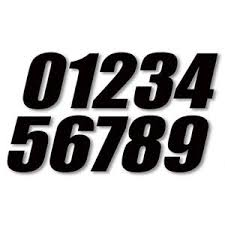 motocross numbers