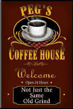 coffee house signs