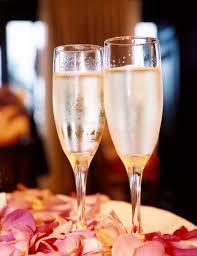 glassware champagne