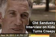 Old Sandusky Interview on Kids