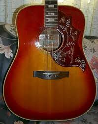 gibson hummingbird guitars