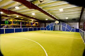 indoor football pitches