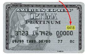 amex credit card numbers