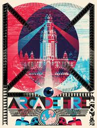 arcade fire posters