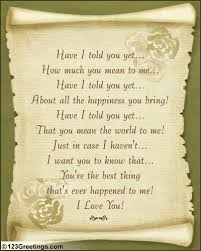 about love poem