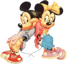 mickey and minnie mouse clip art