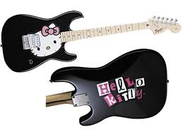 hello kitty guitars