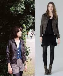 leather jacket fashion