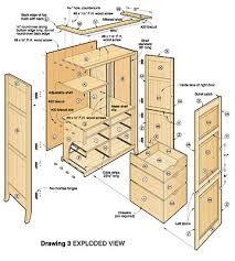 plan armoire