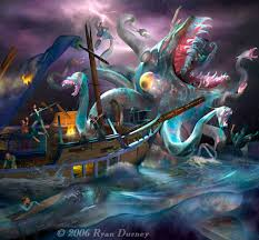 Kraken are mythological sea