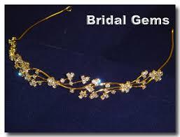 gold wedding accessories