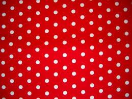 red polka dot wallpaper
