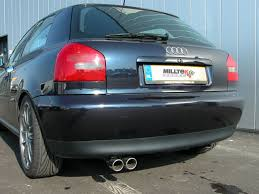 audi a3 exhausts