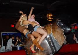 riding mechanical bull