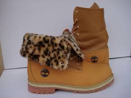 fur topped boots