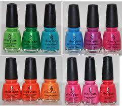 china glaze collection