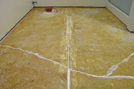 floor cracks
