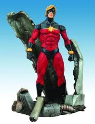marvel select captain marvel