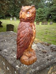 chainsaw carved