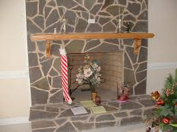 fireplace mantle picture