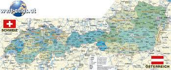 map austria switzerland