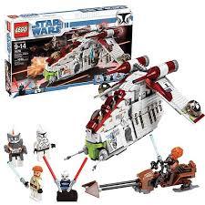 starwars lego republic gunship