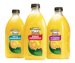 minute maid products