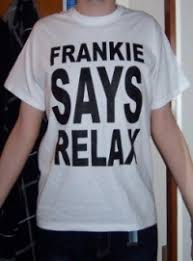 frankie says relax font