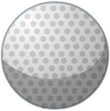 clip art golf ball