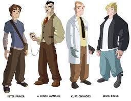 spectacular spider man characters