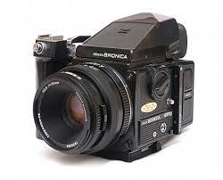 bronica medium format camera