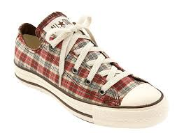 plaid chucks