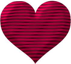 dark pink hearts