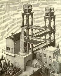 mc escher lithograph