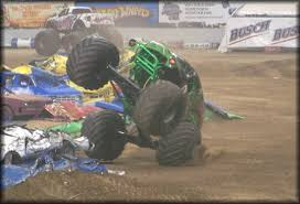 grave digger free style