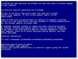 blue screen restart
