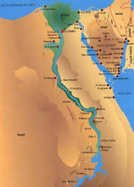 egypt taba map