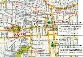 mapa toluca