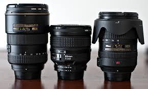 focusing lenses