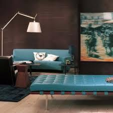 brown blue room